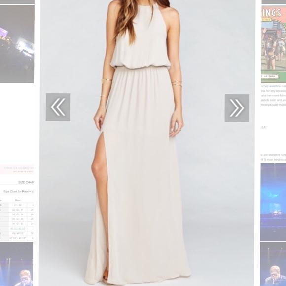 Show Me Your MuMu Dresses & Skirts - Heather Halter Dress